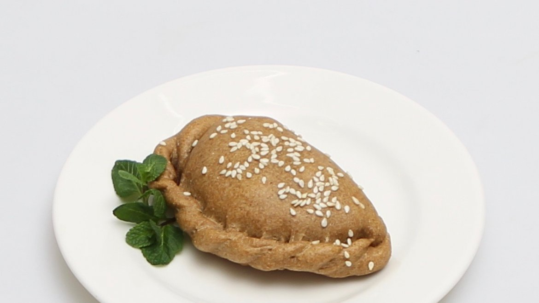 Вега пирожок с черникой и яблоком из французской ржаной муки