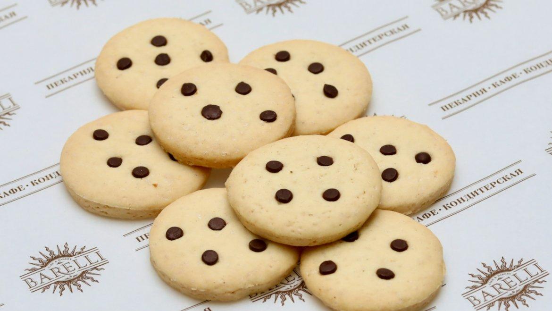 Постное печенье с шоколадом