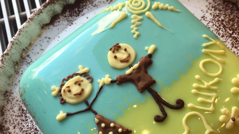 Муссовый торт к 1 сентября