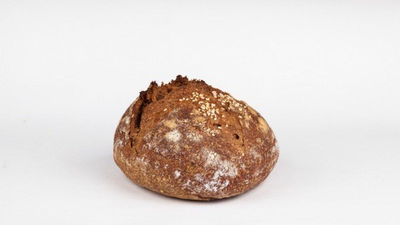 Хлеб  с семенами Чиа — бездрожжевой